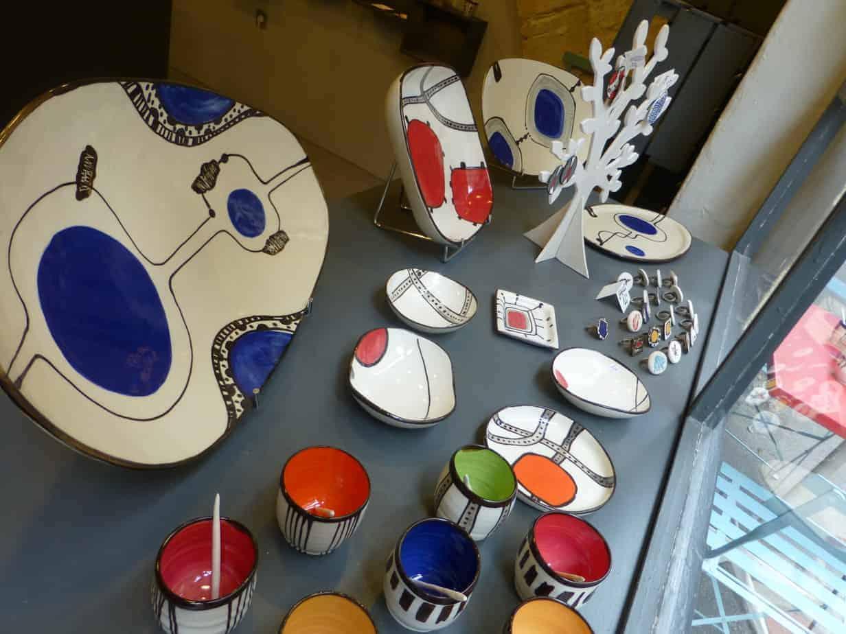 La boutique atelier m z bulon ou la c ramique montpellier - Art de la table montpellier ...